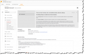 Google Analytics Tracking Code Info