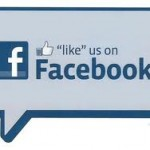 "Be sure and ""Like"" us on Facebook!"